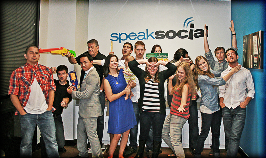 Speak Social Team
